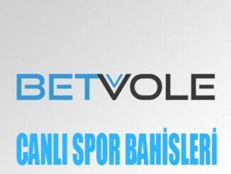 Betvole canlı spor bahisleri